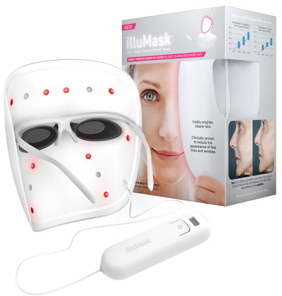 La Lumière's illuMask brand of wearable LED light masks