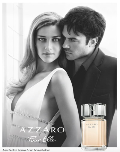 Azzaro Pour Elle, will be launched as a preview in Brazil in May 2015 ©...