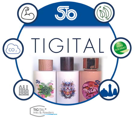 Tigital Coatings is an eco-responsible decorative transfer. Based on powder...