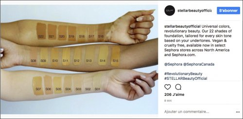 Stellar's Limitless foundation comes in 22 shades and has a broad spectrum...