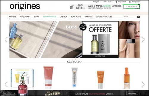 Inter Parfums gets a foothold in e-commerce in France with the acquisition...