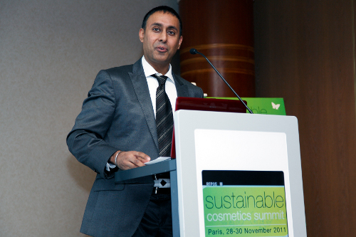 Amarjit Sahota, Founder and CEO, Organic Monitor, speaking at the latest...