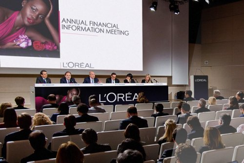 L'Oréal posted strong rise in sales for 2015, boosted by its Luxe...