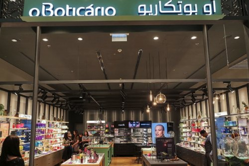 The new store is located in the Dubai Mall, the world's largest...