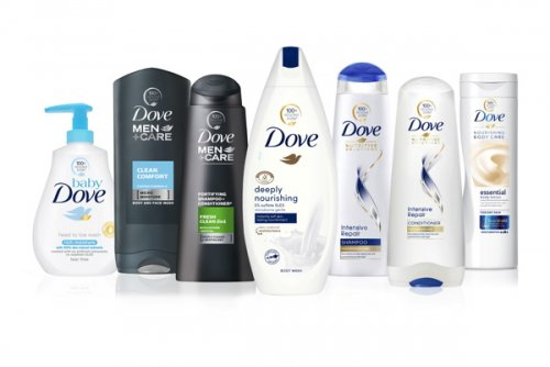 Dove is replacing its plastic bottles with recycled ones in a bid to reduce...