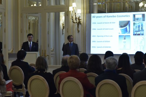 The leaders of Kanebo Cosmetics met in Paris in early October to celebrate...