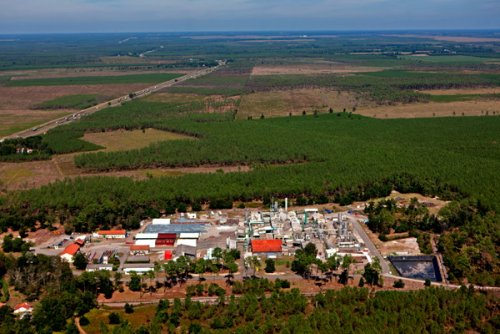 L'un des sites industriels de DRT à Lesperon, dans les Landes. Photo ©...