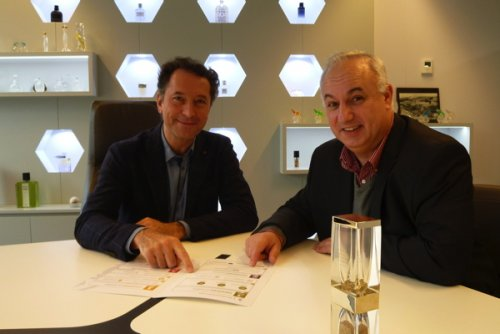 From left to right: Tristan Farabet, General Manager, and Pierre Dehé, CSR...