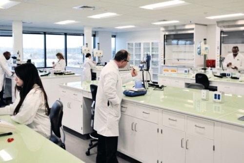 The new technical centre brings together pharmaceutical and personal care...