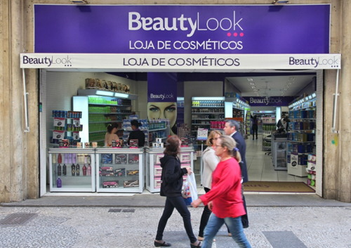 People shop in BeautyLook in Sao Paulo. With 21.2 million people Sao Paulo...