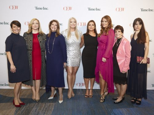 CEW | Achiever Awards 2017 held on September 15, 2017 at the New York...