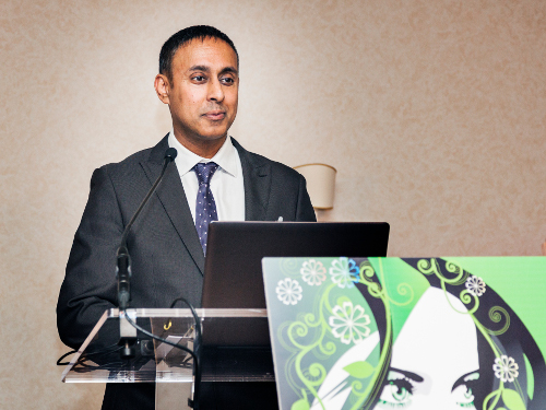 Amarjit Sahota, Founder and President, Ecovia Intelligence, the organiser...