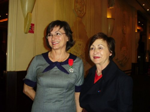 Dominique Bouvier et Nelly Rodi