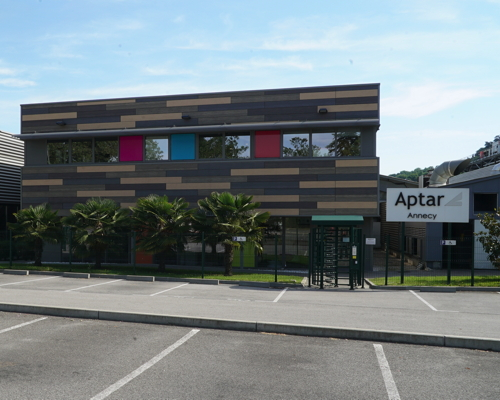 "Aptar""s anodizing and stamping workshop in Annecy, France"