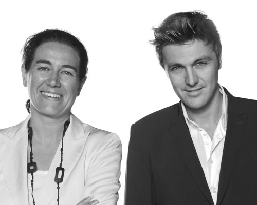Katell Perrot and Stéphane Lafond, co-founders of Toofruit