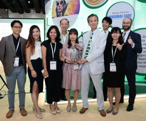 "Nikko Chemicals received the Gold Award in the ""Best Functional Ingredient""..."