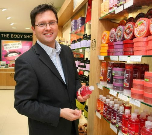 Borwitzky, General Manager of The Body Shop Germany
