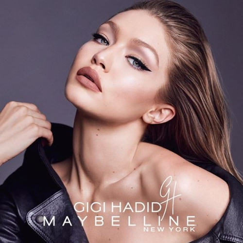 Gigi Hadid launched her first makeup collection with Maybelline. - Photo: ©...