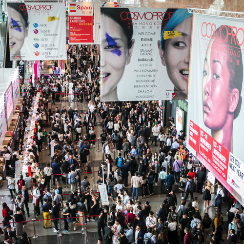 Cosmoprof Asia and Cosmopack Asia 2018 registered 87,284 attendees and...