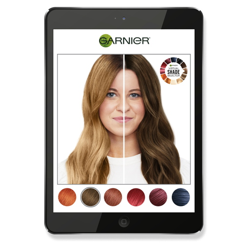 In the wake of L'Oréal Professionnel, Garnier is launching Virtual Shade...
