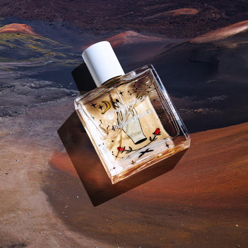The gourmet AVANT L'ORAGE, woody, flowery, vanilla with Indian...