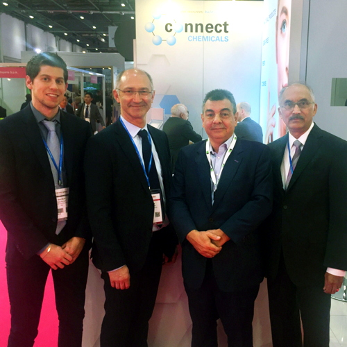 From left: Dario Monti,Product Manager, Connect Chemicals, A Başar Baraca,...