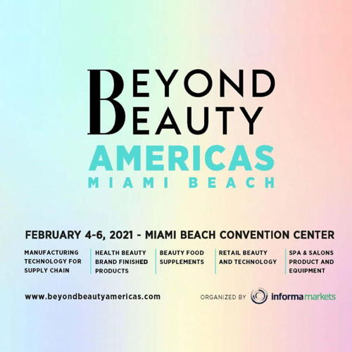 The first edition of BeyondBeauty Americas - Miami Beach will take place on...