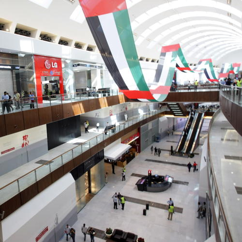 Dubai Mall is a key attraction of the city state that has built its wealth...