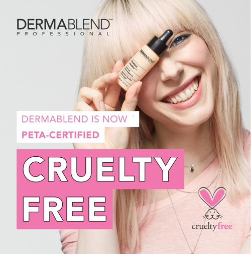 Dermablend Professional is now certified cruelty-free by PETA. (Photo: ©...
