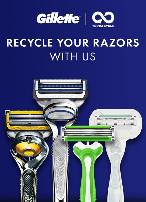 Gillette and TerraCycle partner to make all razors recyclable across...